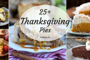25+ Thanksgiving Pies