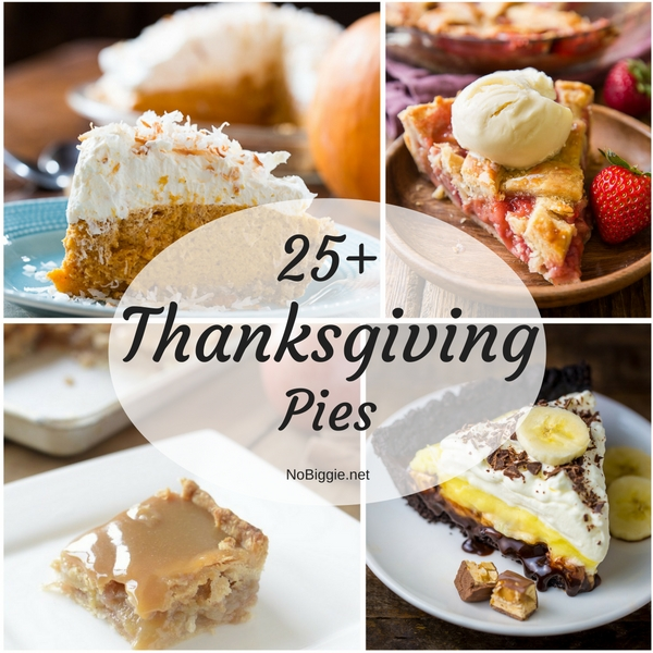 25+ Thanksgiving Pies | NoBiggie.net