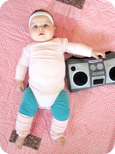 Baby Aerobics Instructor |25+ Creative Costumes for Babies