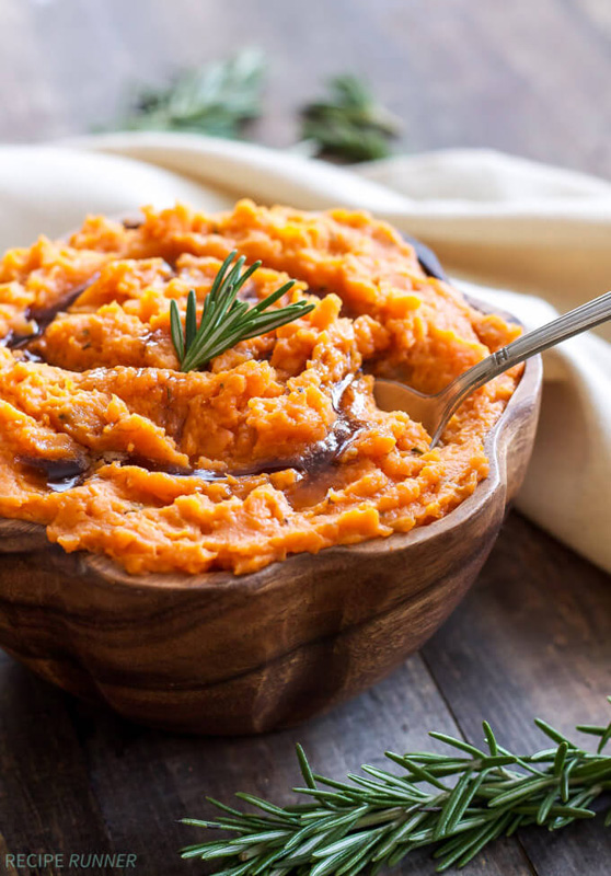 Brown Butter Rosemary Mashed Sweet Potatoes | 25+ Browned Butter ...