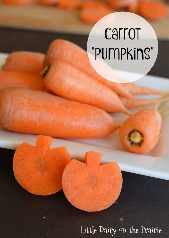 Carrot Pumpkins | 25+ Healthy Halloween Food