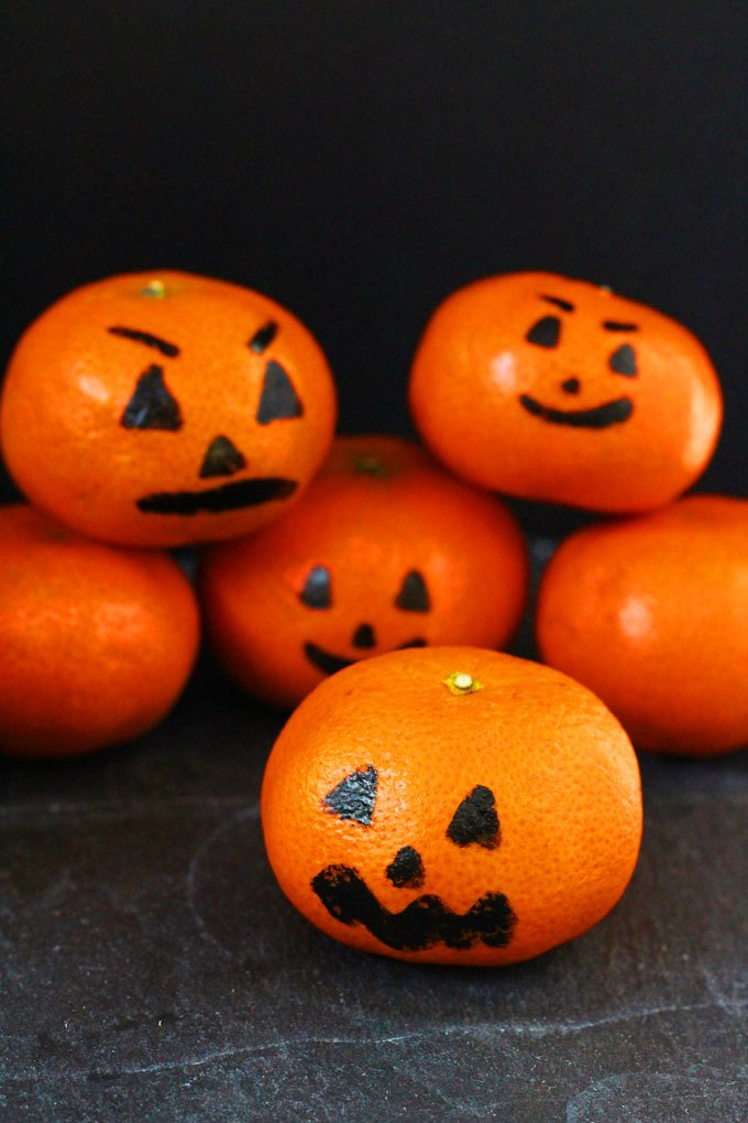 Clementine Pumpkins | 25+ Healthy Halloween Food