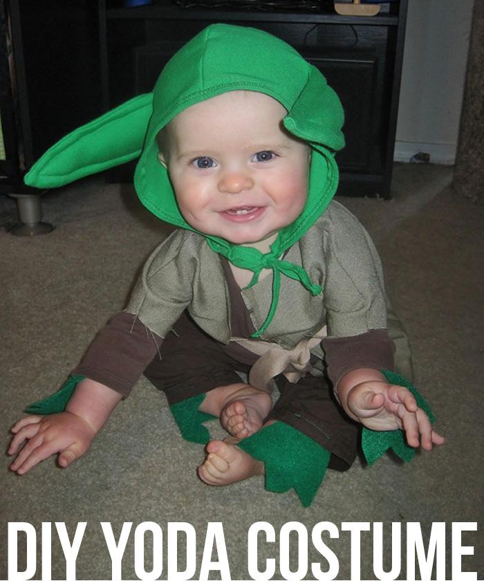 DIY Yoda Costume |25+ Creative Costumes for Babies