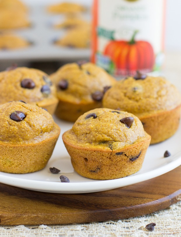 Healthy Flourless Pumpkin Muffins | 25+ Healthy Halloween Food