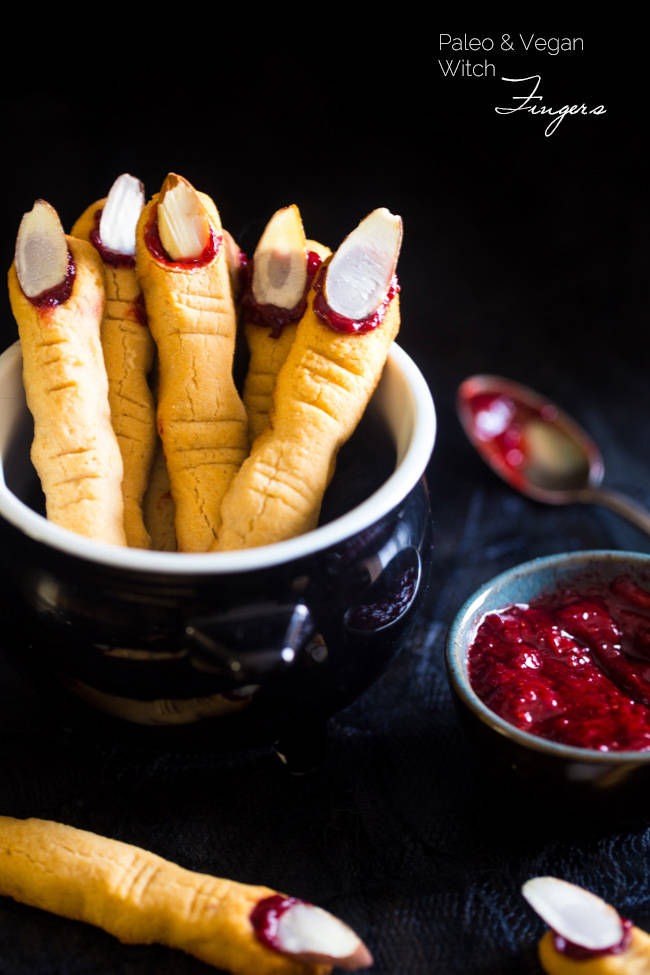 Paleo Witch Finger Cookies | 25+ Healthy Halloween Food