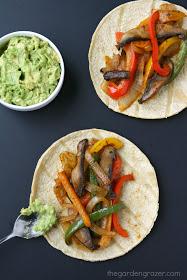 Portobello Fajitas | 25+ Meatless Meals