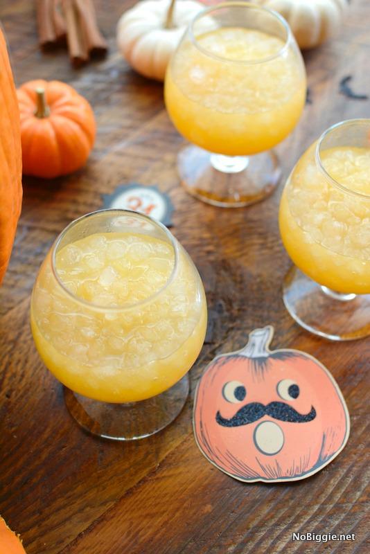 pumpkin spice halloween punch | NoBiggie.net