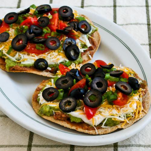 Seven Layer Tostadas | 25+ Meatless Meals