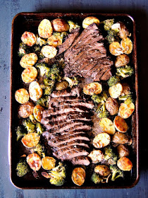 Steak with Potatoes | 25+ Sheet Pan Dinner Recipes