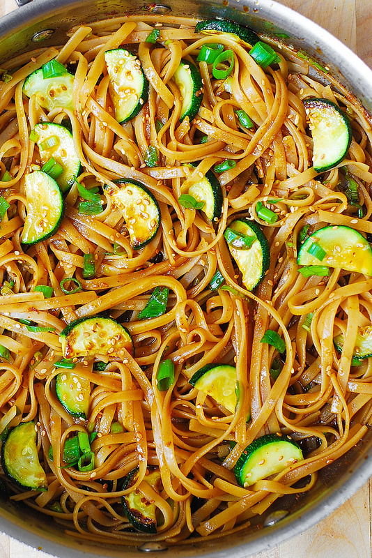 Thai Zucchini Noodles | 25+ Meatless Meals