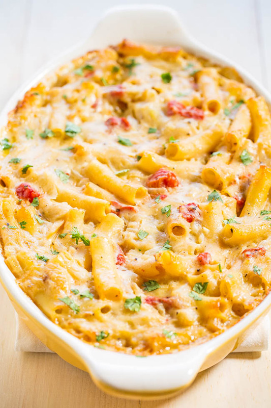 Three Cheese Baked Ziti | 25+ Meatless Meals