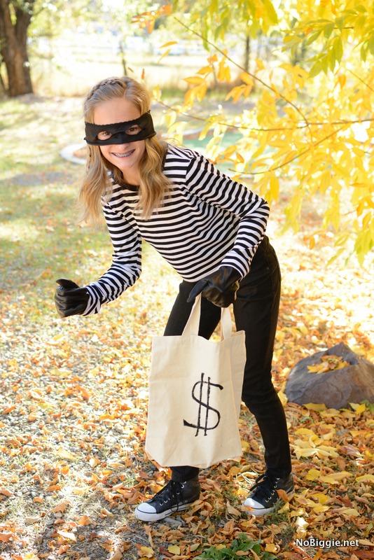 easy DIY bandit costume | NoBiggie.net