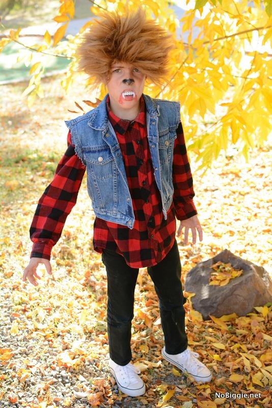 Werewolf costume for boys | NoBiggie.net