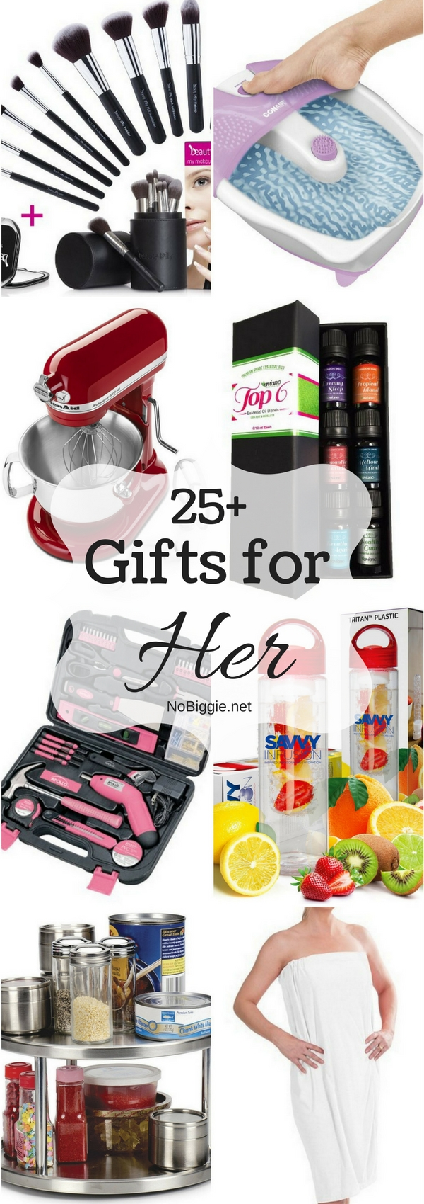 25+ Gifts for Her | NoBiggie.net