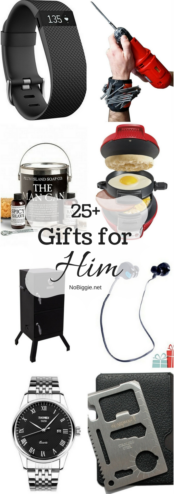 25+ Gifts for Him | NoBiggie.net