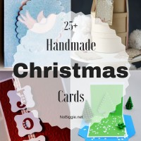25+ Handmade Christmas Cards