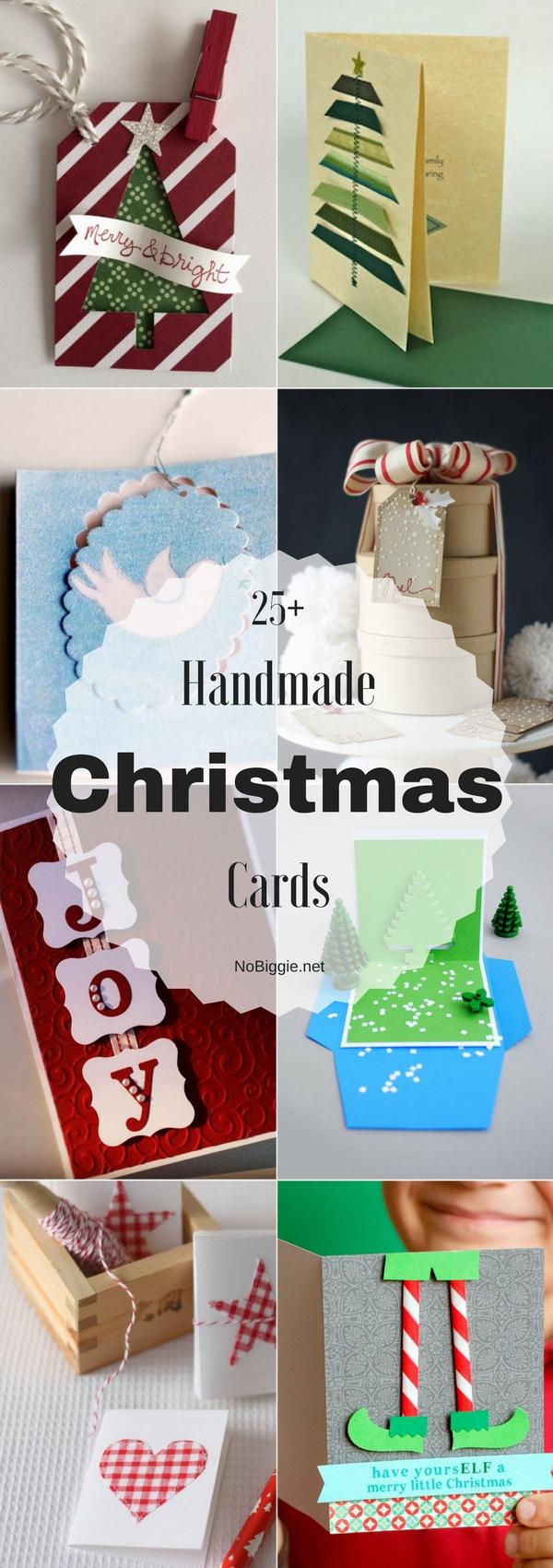25+ Handmade Christmas Cards  | NoBiggie.net