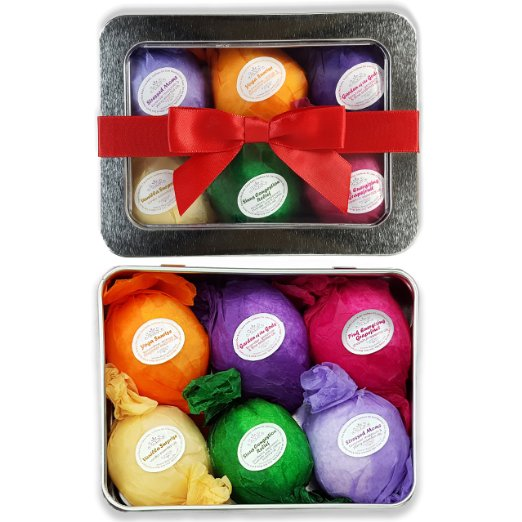 Bath Bombs Gift Set | 25+ Gifts for Her