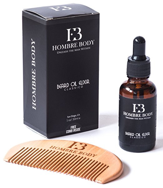 Beard Oil and Comb Set | 25+ Gifts for Him