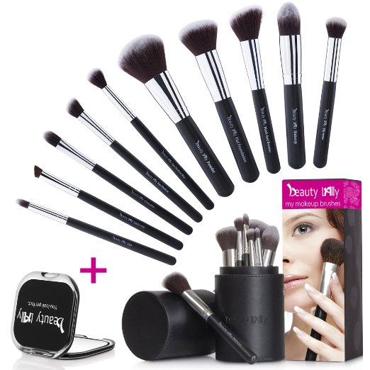 Beauty Lally 10 Pcs Makeup Brushes kit | NoBiggie.net | 25+ Gifts for Her