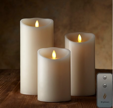 Brightown Single Moving Wick Flicker Candles | 25+ Gifts for Her