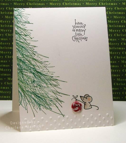 CAS Merry Little Christmas | 25+ Handmade Christmas Cards