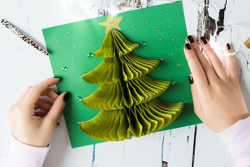 DIY Pop Up Christmas Card | 25+ Handmade Christmas Cards