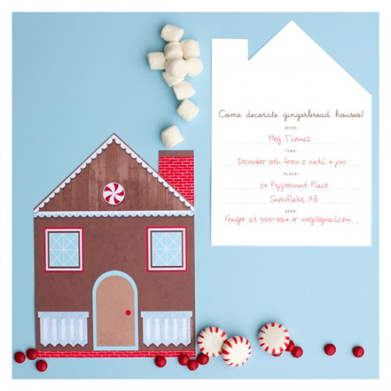 Gingerbread House | 25+ Handmade Christmas Cards