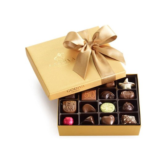 Godiva Chocolatier Classic Gold Ballotin | 25+ Gifts for Her