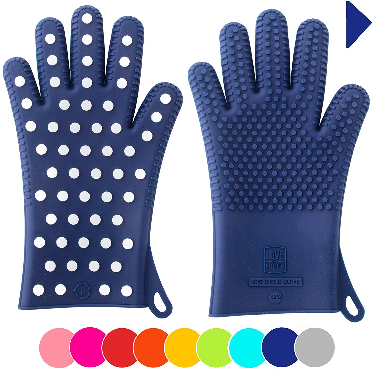 Heavy-Duty Woman's Silicone Oven Mitts | 25+ Gifts for Her