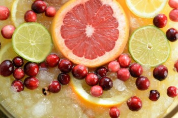 Jingle Juice Holiday Mocktail #MixedwithTrop