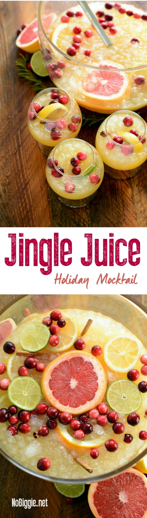 jingle juice holiday mocktail | NoBiggie.net