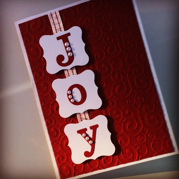 Joy | 25+ Handmade Christmas Cards