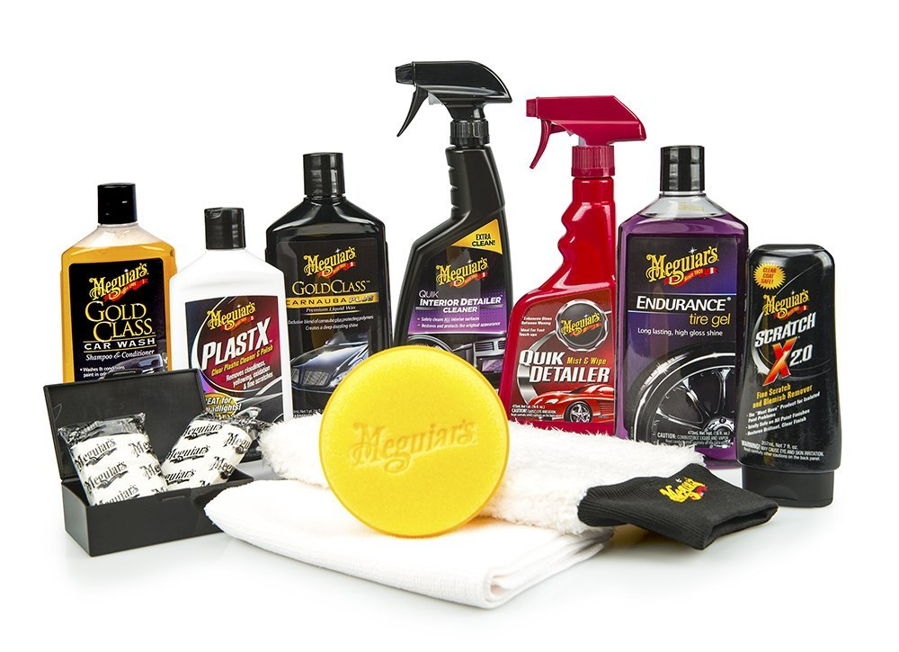 Meguiar's Complete Car Care Kit | 25+ Gifts for Him