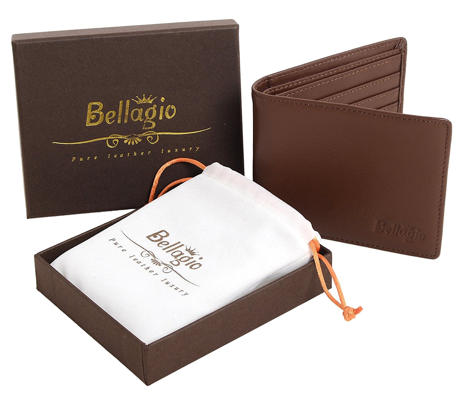 Premium Leather Wallet for Men | 25+ Gifts for Him