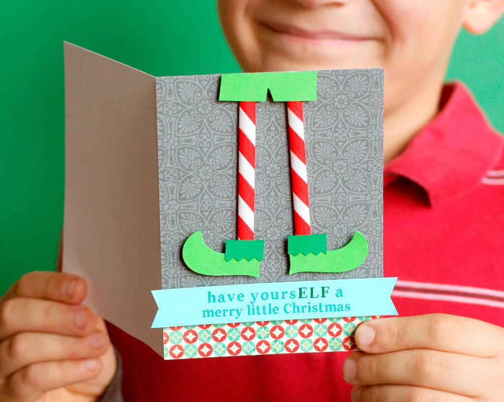 Punny Christmas Cards | 25+ Handmade Christmas Cards