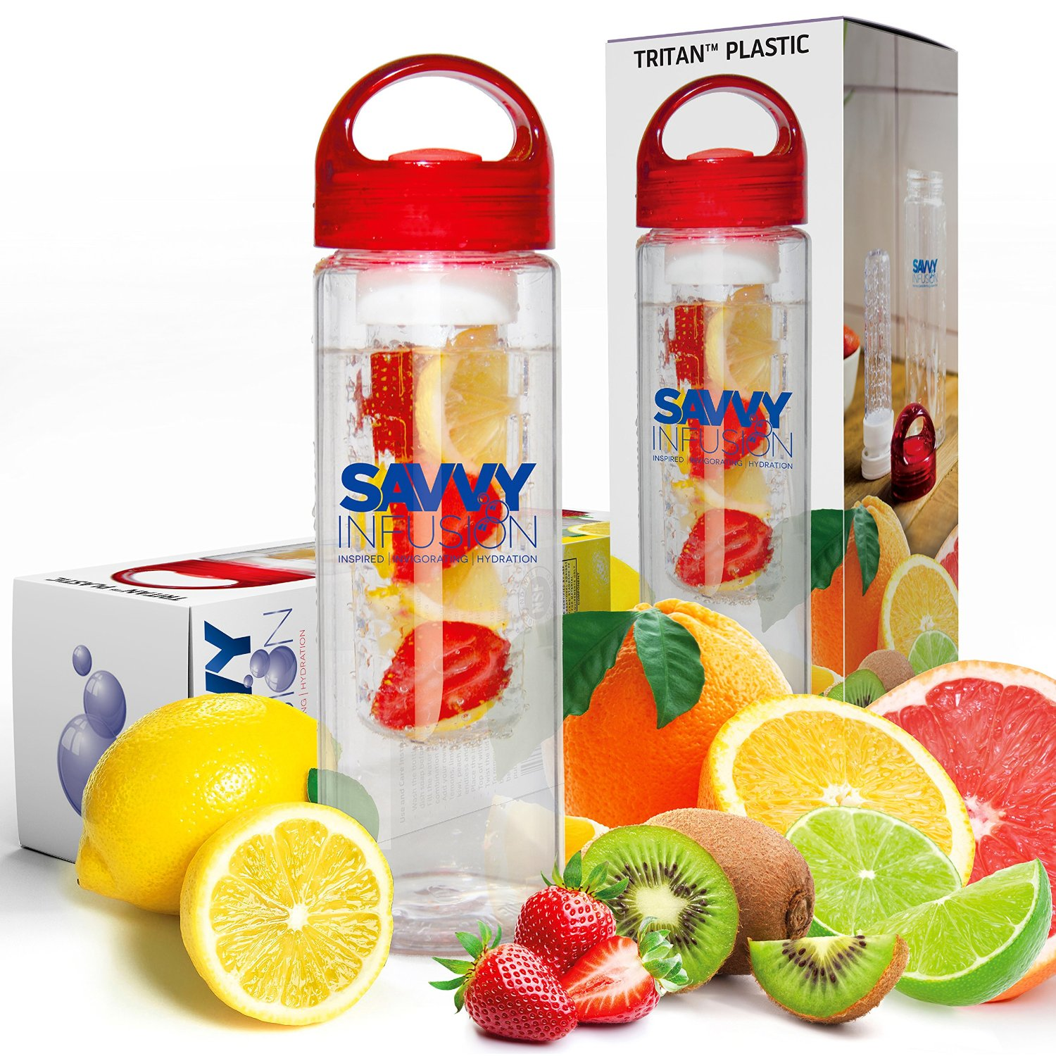 Savvy Infusion Water Bottle | 25+ Gifts for Her