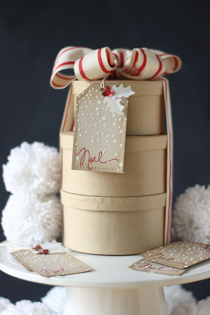 Snowy Noel | 25+ Handmade Christmas Cards