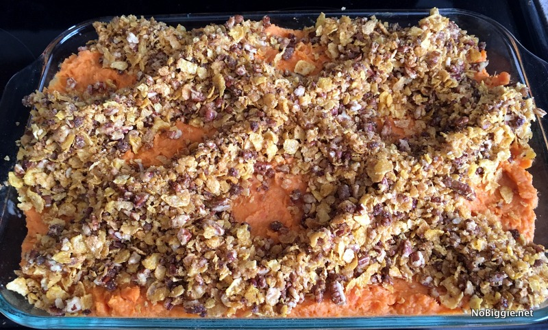 Sweet Potato Casserole | NoBiggie.net