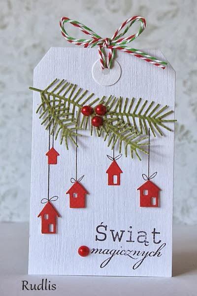 Tiny House Ornaments | 25+ Handmade Christmas Cards