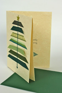 Zig Zag Stitched Ribbon | 25+ Handmade Christmas Cards