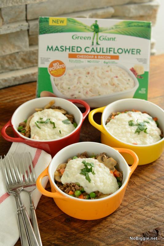 Shepherd S Pie With Mashed Cauliflower Nobiggie