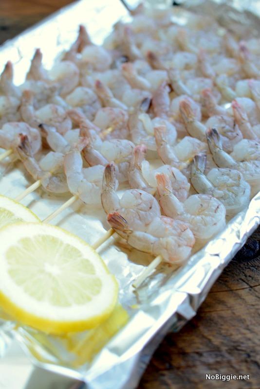 Uncooked Shrimp Skewers | NoBiggie.net