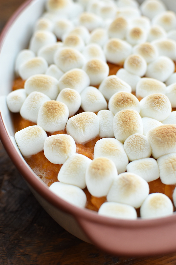 yams with mini marshmallows