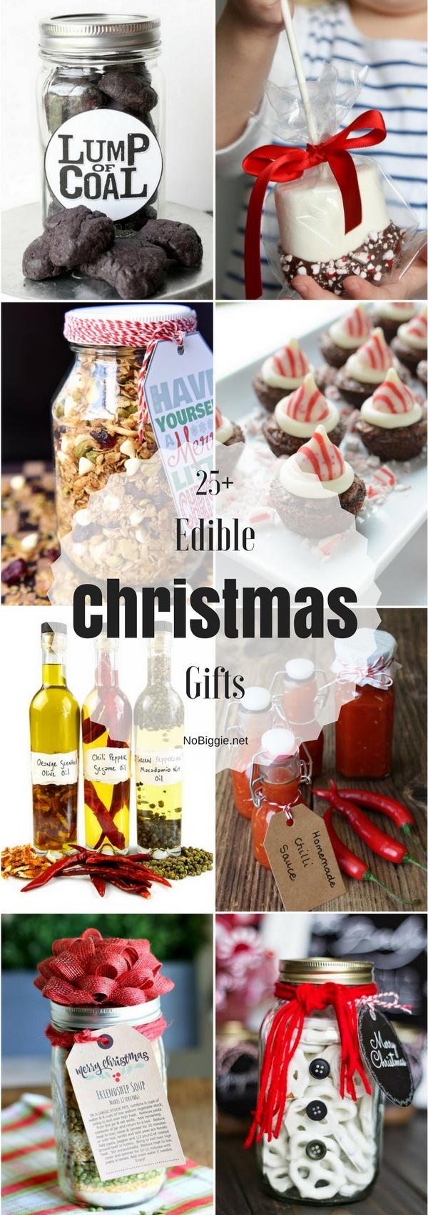 25+ Edible Christmas Gifts | NoBiggie.net