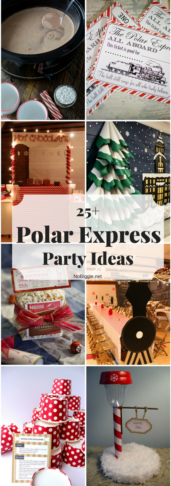 Superb Polar Express Party Ideas For Christmas Part - 4: 25+ Polar Express Party Ideas | NoBiggie.net