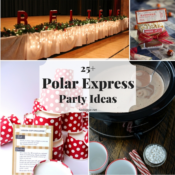 Polar Express Party Ideas For Christmas Part - 16: 25+ Polar Express Party Ideas | NoBiggie.net