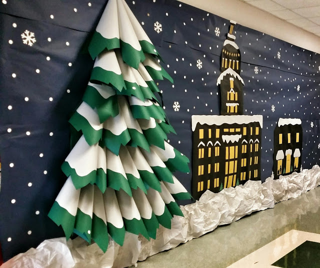 3D Tree | 25+ Polar Express Party Ideas