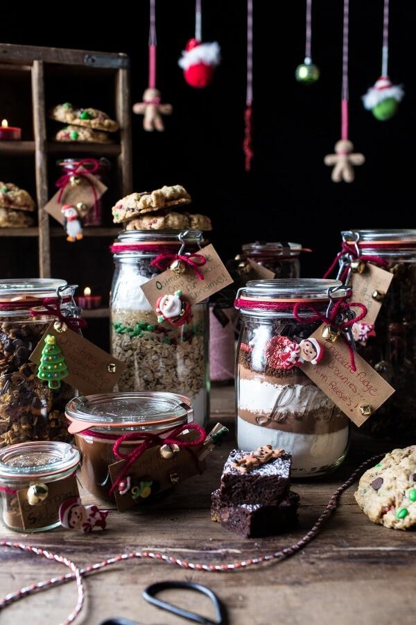 Edible Christmas Gifts in Jars | 25+ Edible Christmas Gifts