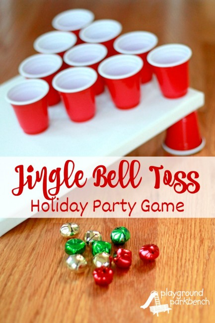 Jingle Bell Toss Party Game | 25+ Polar Express Party Ideas